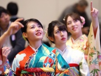 2019年の大発会の様子(写真:つのだよしお/アフロ)