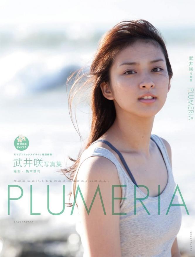 武井咲写真集『PLUMERIA』より