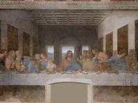 レオナルド・ダ・ヴィンチ作『最後の晩餐』 画像は「Wikipedia」より