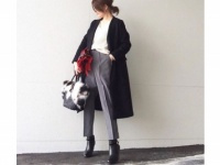 スマートな女は「黒×白×グレー」の3色を賢く着る #東京365日コーデ