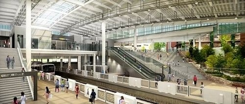 「南町田グランベリーパーク駅」のイメージ(東急電鉄のプレスリリースより)