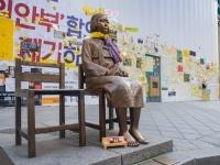 """韓国でなぜ反日攻勢が激化?日本大使館前に次は""""徴用工像""""設置の醜態(写真はイメージです)"""