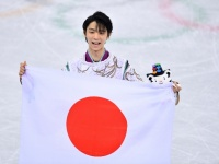 男子フィギュアスケートの羽生結弦選手(写真:松尾/アフロスポーツ)