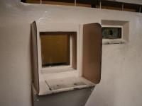 アルカトラズ刑務所の面会窓
