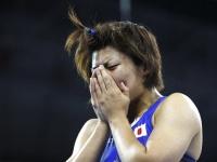 伊調馨選手(AP/アフロ)