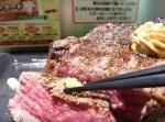 【はいじぃ迷作劇場】【いきなりステーキ】過去最大の巨大肉を爆食い!!