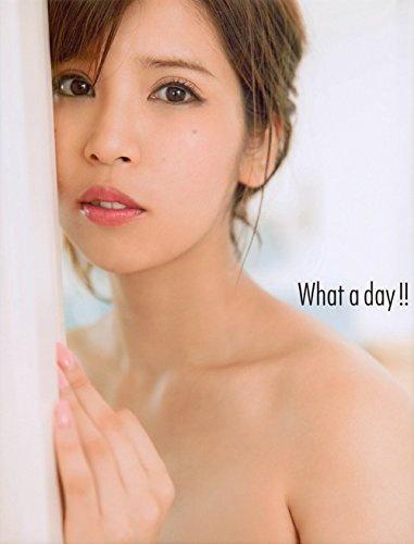 坂口杏里改めANRI写真集『What a day !!』より