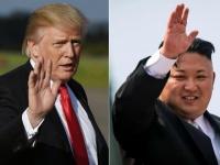 アメリカのドナルド・トランプ大統領(左)と北朝鮮の金正恩朝鮮労働党委員長(右)(写真:AFP/アフロ)