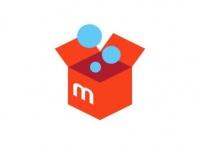 「メルカリ」のアプリ起動画面