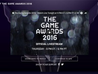 「The Game Awards 2016」公式サイトより。