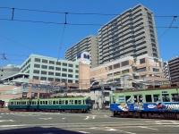 京阪石山坂本線浜大津駅前交差点(: : Ys [waiz] : :さん撮影、Flickrより)