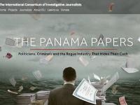 国際調査報道ジャーナリスト連合が公開しているパナマ文書のウェブページより