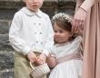 ウィリアム王子そっくりのジョージ王子