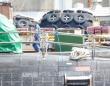 神戸港に浮かぶ海自の潜水艦(筆者撮影)