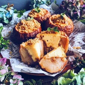 リンゴとチーズは最高の相性!焼きりんごのチーズケーキの作り方【ネトメシ】
