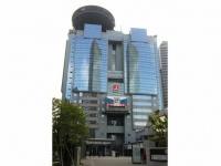 東京放送ホールディングス本社が所在するTBS放送センター(「Wikipedia」より)