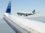 あわや大事故? 空港上空で旅客機2機がニアミス…