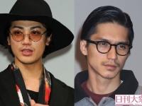(左より)赤西仁・錦戸亮