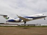 試験飛行中のARJ21-700 1号機