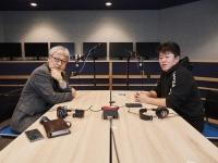 ラジオで対談をする馬場康夫氏と堀江貴文氏