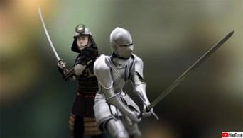 西洋剣と日本の刀を比較してみた(スミソニアンチャンネル)