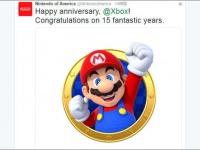 「Nintendo of America」公式Twitter(@NintendoAmerica)より。