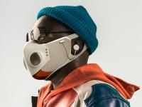 ハリウッドのスーパーヒーロー衣装を手掛けたスタッフが開発したSFテイストのハイテクマスクが誕生