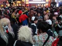 渋谷・ハロウィンの様子