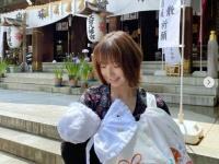インスタグラム:篠田麻里子(@shinodamariko3)より