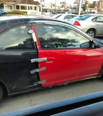 壊れた?ダクトテープがあればOK!アメリカ人、壊れたものはとりあえずダクトテープで修理する説