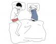 「向かい合って寝る」カップルが危険な理由