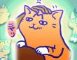 アレな生態系日常漫画「いぶかればいぶかろう」第34回:甘えん坊のぐんて号。撫でてほしくて手を求めてハンティング