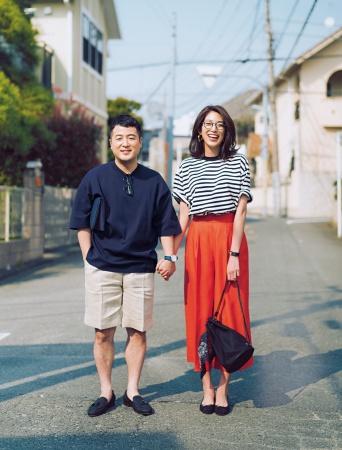 『Domani』6/7月号に登場した和牛・水田信二(左)