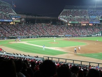 筆者もボランティアついでにマツダスタジアムで野球観戦してきた。