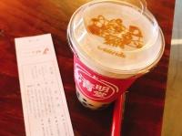 フォームタピオカミルクティー黒豆ほうじ茶(648円)