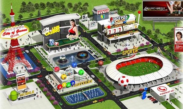 36BOLのコンセプトは「City of Games」。いろいろなゲームがあるのが醍醐味