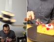 予想外の展開から目が離せない!食後に自動的にケーキを食べる為の壮大なるルーブ・ゴールドバーグ・マシン