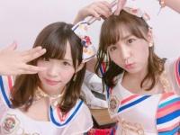 左が松村さん。右は大場美奈さん/松村香織のInstagramより