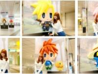 『ワールド オブ ファイナルファンタジー』渋谷駅ジャックの様子