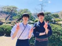 高杉真宙と横浜流星(画像は横浜流星の公式インスタグラム『@ryuseiyokohama_official』より)
