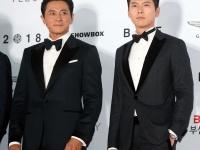 ※チャン・ドンゴンとヒョンビン。写真:アフロ