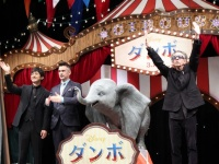 『ダンボ』ジャパンプレミアでコリン・ファレル、ティム・バートン、西島秀俊が仲良しトークセッション