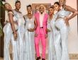 一夫多妻制のリアル。全員妊娠中の6人のガールフレンドを引き連れ結婚式に出席した男性(ナイジェリア)