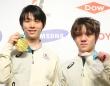羽生結弦選手(左)・宇野昌磨選手(写真:YUTAKA/アフロスポーツ)