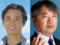 左:初鹿明博、右:青山雅幸(ともに公式サイトより)