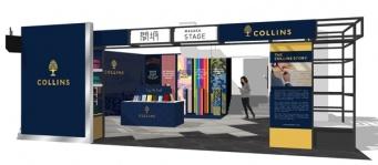 英国文具ブランド「Collins」のポップアップストアが、渋谷ロフトに期間限定で登場