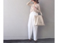 ハイライズ×ワイドパンツで、楽ちんだけどおしゃれ #東京365日コーデ