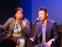 1番以外の全打席で本塁打を放った里崎智也氏と、鋭い分析で打順論を語った仁志敏久氏