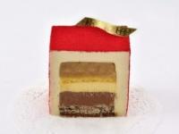【六本木土産】シャンパンに合わせたい! ラグジュアリーな大人のケーキ「キューブ ルージュ」