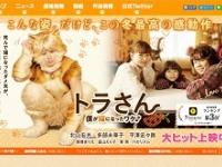 映画『トラさん~僕が猫になったワケ~』公式サイトより